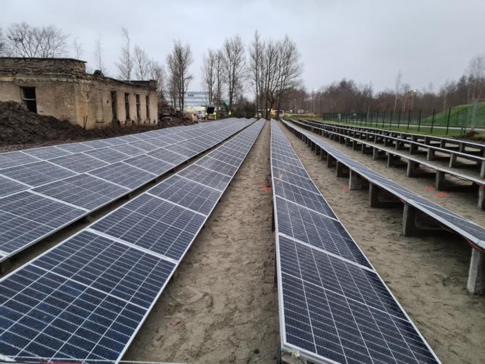 Päikesepark 2, 50 kW Tallinnas